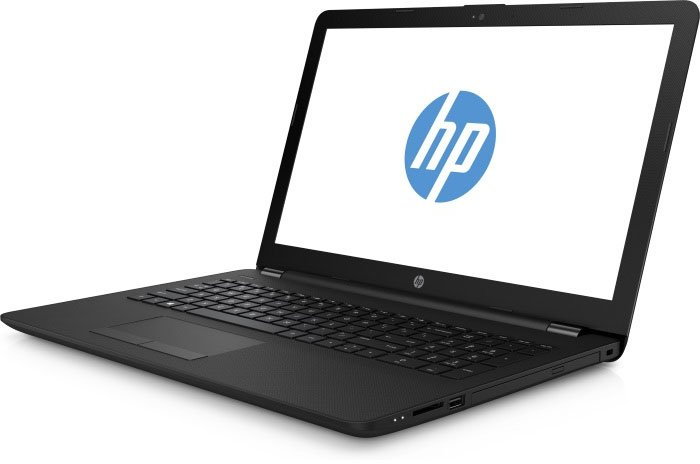 "Ноутбук HP 15-bs007ur Celeron N3060/4Gb/SSD128Gb/Intel HD Graphics 400/15.6""/HD (1366x768)/Windows 10/black/WiFi/BT/Cam"