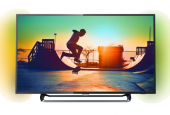"Телевизор LED Philips 55"" 55PUS6523/60 черный/Ultra HD/900Hz/DVB-T/DVB-T2/DVB-C/USB/WiFi/Smart TV (RUS)"