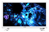 "Телевизор LED Hyundai 24"" H-LED24ES5020 белый/HD READY/60Hz/DVB-T2/DVB-C/DVB-S2/USB/WiFi/Smart TV (RUS)"