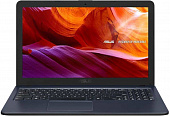 "Ноутбук Asus VivoBook K543BA-DM625 A6 9225/4Gb/SSD256Gb/AMD Radeon R4/15.6""/FHD (1920x1080)/Endless/grey/WiFi/BT/Cam"